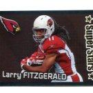 LARRY FITZGERALD 2012 Panini Sticker FOIL #402 Arizona Cardinals PITT Panthers