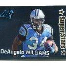 DeANGELO WILLIAMS 2012 Panini Sticker FOIL #368 Carolina Panthers MEMPHIS