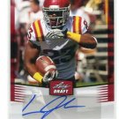 LEONARD JOHNSON 2012 Leaf Draft AUTO Autograph #LJ2 ROOKIE Iowa State TB BUCS