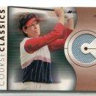 JULIE INKSTER 2003 SP Authentic Course Classics AUTHENTIC Golf Shirt ROOKIE  LPGA