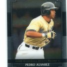 PEDRO ALVAREZ 2008 Razor Metal Exclusive LTD Edition #BA-PA Pirates ROOKIE RC