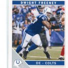 DWIGHT FREENEY 2011 Score ARTIST PROOF SP #125 Colts SYRACUSE Orange