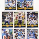 (8) CHARGERS 2012 Topps Base TEAM Lot: Philip Rivers, Mathews, Gates, Floyd, more