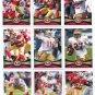(15) 49ers 2012 Topps Base TEAM Lot: Manningham, Gore, Jacobs, Crabtree, Davis, more