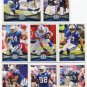 (8) Indy COLTS 2012 Topps Base TEAM Lot: Mathis, Freeney, Colie, D Clark, more