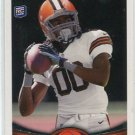 TRAVIS BENJAMIN 2012 Topps #104 ROOKIE Browns MIAMI CANES Hurricanes
