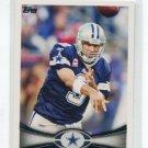 TONY ROMO 2012 Topps #410 Dallas Cowboys QB