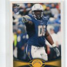 KENDALL REYES 2012 Topps #83 ROOKIE San Diego Chargers UCONN Huskies