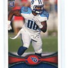 ZACH BROWN 2012 Topps #363 ROOKIE Tennessee Titans NORTH CAROLINA Tarheels