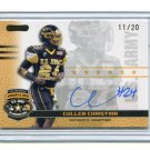 CULLEN CHRISTIAN 2010 Razor Army All-American AUTO Pitt Panthers CB low #d/20