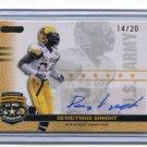 DeMETRIUS WRIGHT 2010 Razor Army All-American AUTO Southern Cal USC Trojans SAFETY low #d/20