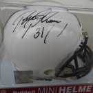 PAUL POSLUSZNY Signed Ridell MINI HELMET Penn State Nittany Lions - LB - AUTO Autograph