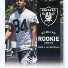 JURON CRINER 2012 Panini Prestige #278 ROOKIE Raiders ARIZONA Wildcats