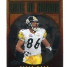 HINES WARD 2006 Topps Chrome Ring of Honor INSERT Steelers GEORGIA Bulldogs