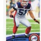 PAUL POSLUSZNY 2011 Topps #202 Bills PENN STATE Nittany Lions