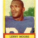 LENNY MOORE 1963 Topps #2 Baltimore Colts PENN STATE