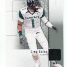 GREG SALAS 2011 SP Authentic #47 ROOKIE Rams HAWAII Warriors PATRIOTS