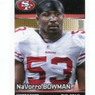 NaVORRO BOWMAN 2012 Panini Stickers #422 49ers PENN STATE Nittany Lions