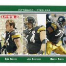 ALAN FANECA / JEFF HARTINGS / MARVEL SMITH 2006 Topps Total #87 LSU Steelers PENN STATE