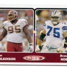 BRANDON NOBLE 2003 Topps Total #440 PENN STATE Cowboys - his only ROOKIE