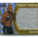 RASHAD EVANS 2012 Topps Finest Threads UFC Fighter-Worn Gear #JFT-RE #d/88