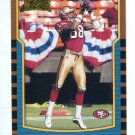 CHAFIE FIELDS 2000 Bowman #200 ROOKIE Penn State 49ers