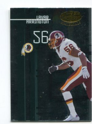 LaVAR ARRINGTON 2005 Leaf Certified Materials #118 Penn State REDSKINS
