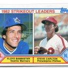 STEVE CARLTON 1983 Topps LL #706 Philadelphia Phillies