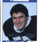 CHRIS CONLAN 1992 Front Row Second Mile PENN STATE Nittany Lions