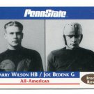 HARRY WILSON / JOE BEDENK 1992 Front Row Second Mile PENN STATE Nittany Lions RAIDERS