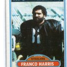 FRANCO HARRIS 1980 Topps #400 Steelers PENN STATE Nittany Lions A