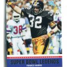 FRANCO HARRIS 2011 Topps Super Bowl Legends INSERT Steelers PENN STATE
