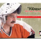 PW) BERNIE PARENT 2005 In The Game Between the Pipes #13 Canada Philadelphia Phillies