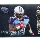 CHRIS JOHNSON 2012 Panini Sticker FOIL #164 Titans