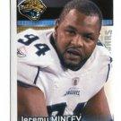 JEREMY MINCEY 2012 Panini Sticker #153 Jaguars