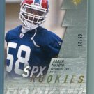 AARON MAYBIN 2009 SPx #189 ROOKIE Penn State BILLS low #d/25