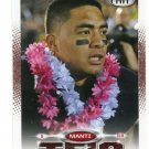 MANTI TE'O 2013 Sage Hit RED SP #5 ROOKIE Notre Dame Irish HAWAII Chargers LB