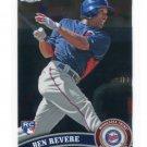 BEN REVERE 2011 Topps Chrome #175 ROOKIE Philadelphia Phillies TWINS