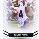 QUINTON PATTON 2013 Leaf Draft #57 ROOKIE Louisiana Tech 49ers WR Quantity
