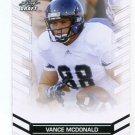 VANCE McDONALD 2013 Leaf Draft #76 ROOKIE Rice Owls 49ers WR Quantity