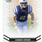 CONNER VERNON 2013 Leaf Draft #11 ROOKIE Duke Blue Devils WR Quantity