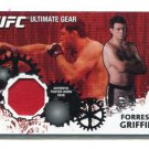 FORREST GRIFFIN 2010 Topps UFC Ultimate Gear RELIC #UG-FG