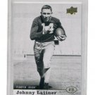 JOHNNY LATTNER 2013 Upper Deck SSP #32 Notre Dame Irish HEISMAN
