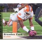 BRANDON FORD 2013 Upper Deck UD Star Rookie #137 Clemson Tigers