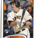 BRETT PILL 2012 Topps #70 ROOKIE Giants