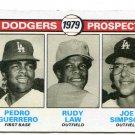 PEDRO GUERRERO 1979 Topps #719 ROOKIE Dodgers