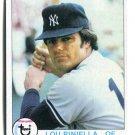 LOU PINELLA 1979 Topps #648 New York NY Yankees