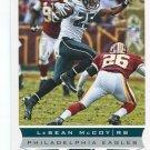 LeSEAN McCOY 2013 Score #161 Eagles PITT Panthers