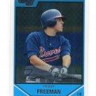 FREDDIE FREEMAN 2007 Bowman Draft Picks Chrome #BDPP12 ROOKIE Braves