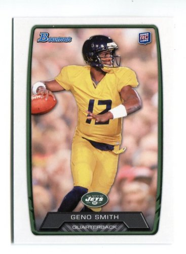 GENO SMITH 2013 Bowman #150 ROOKIE West Virginia NY JETS QB Quantity QTY